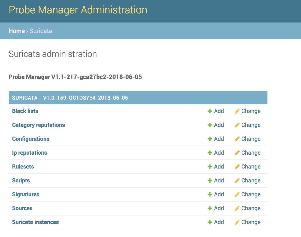 Suricata for Probe Manager — ProbeManager v1 2 1-102-g1c1b687-2018