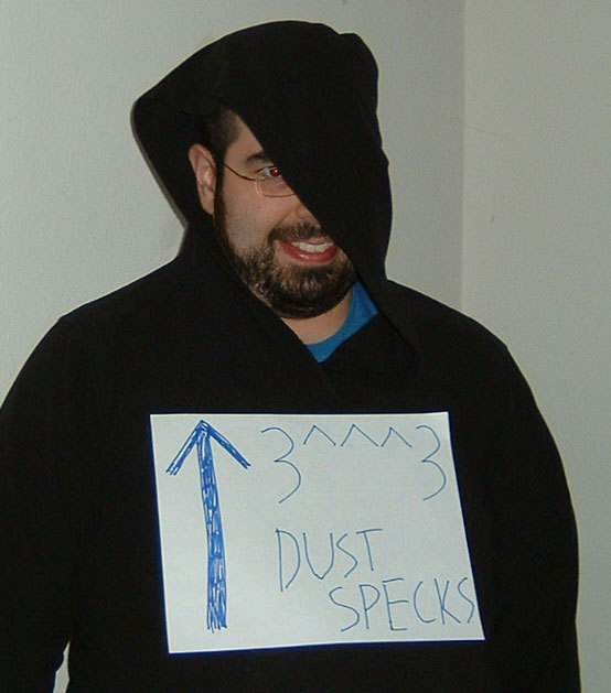 Dust specks