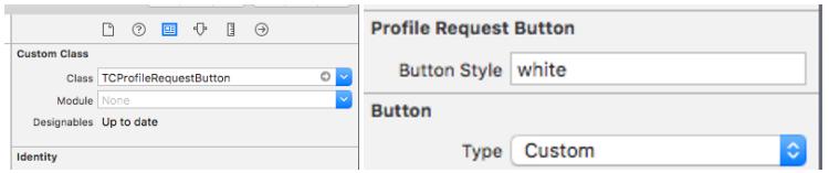 Profile request button