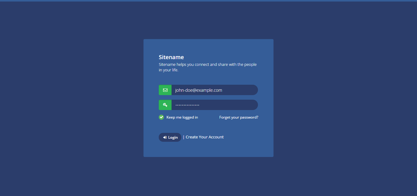 bootstrap login page template free - github truekasun simple responsive login page simple
