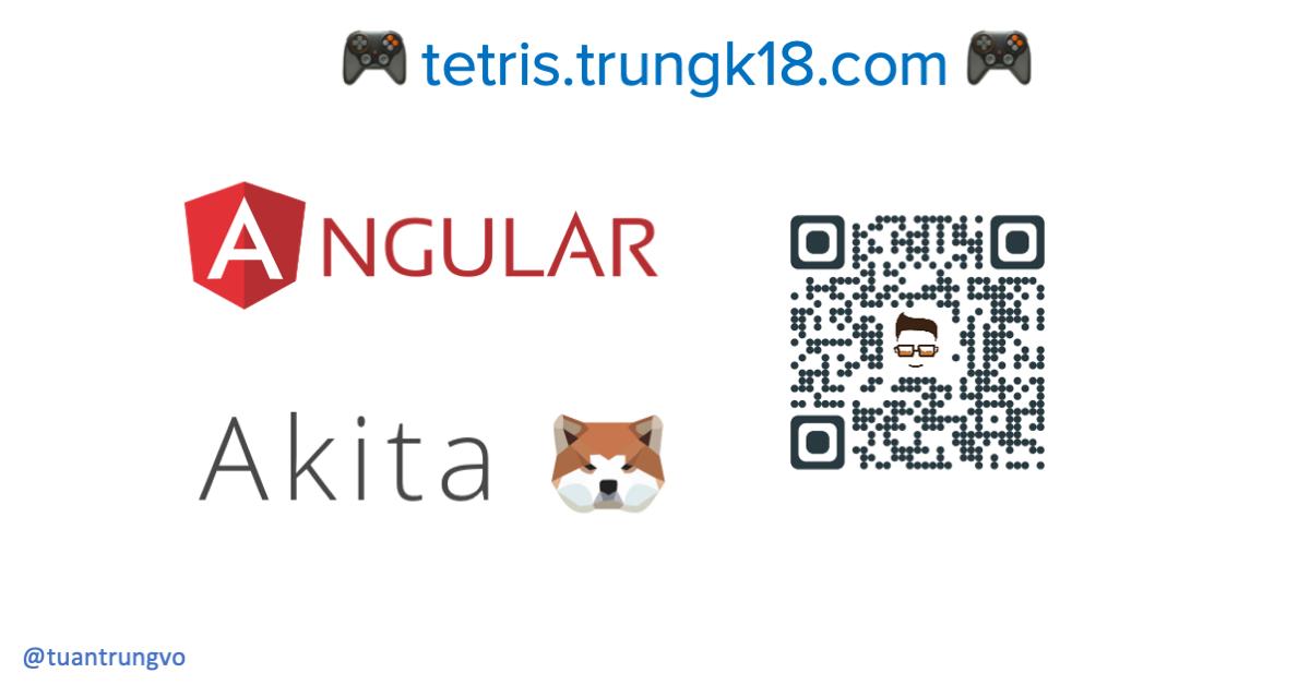 Angular Tetris