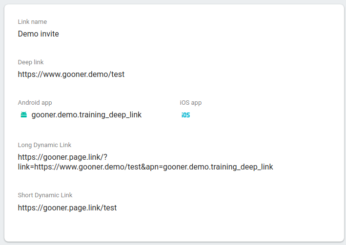 deeplink trong android