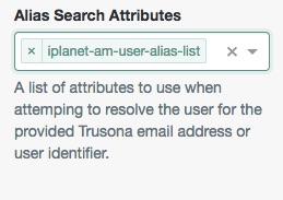 Using an alias to map users