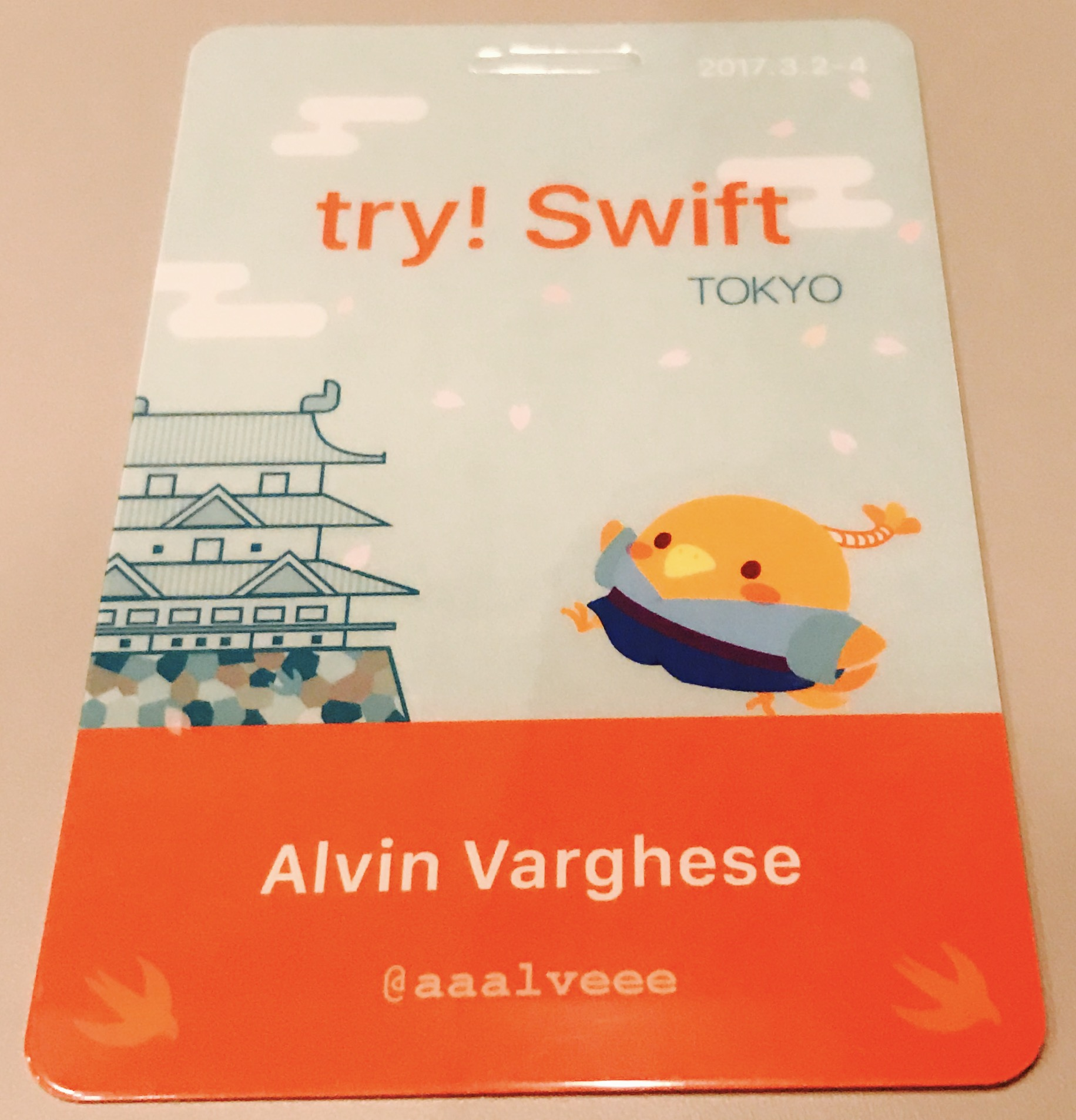 try! Swift Tokyo Conference Bandge