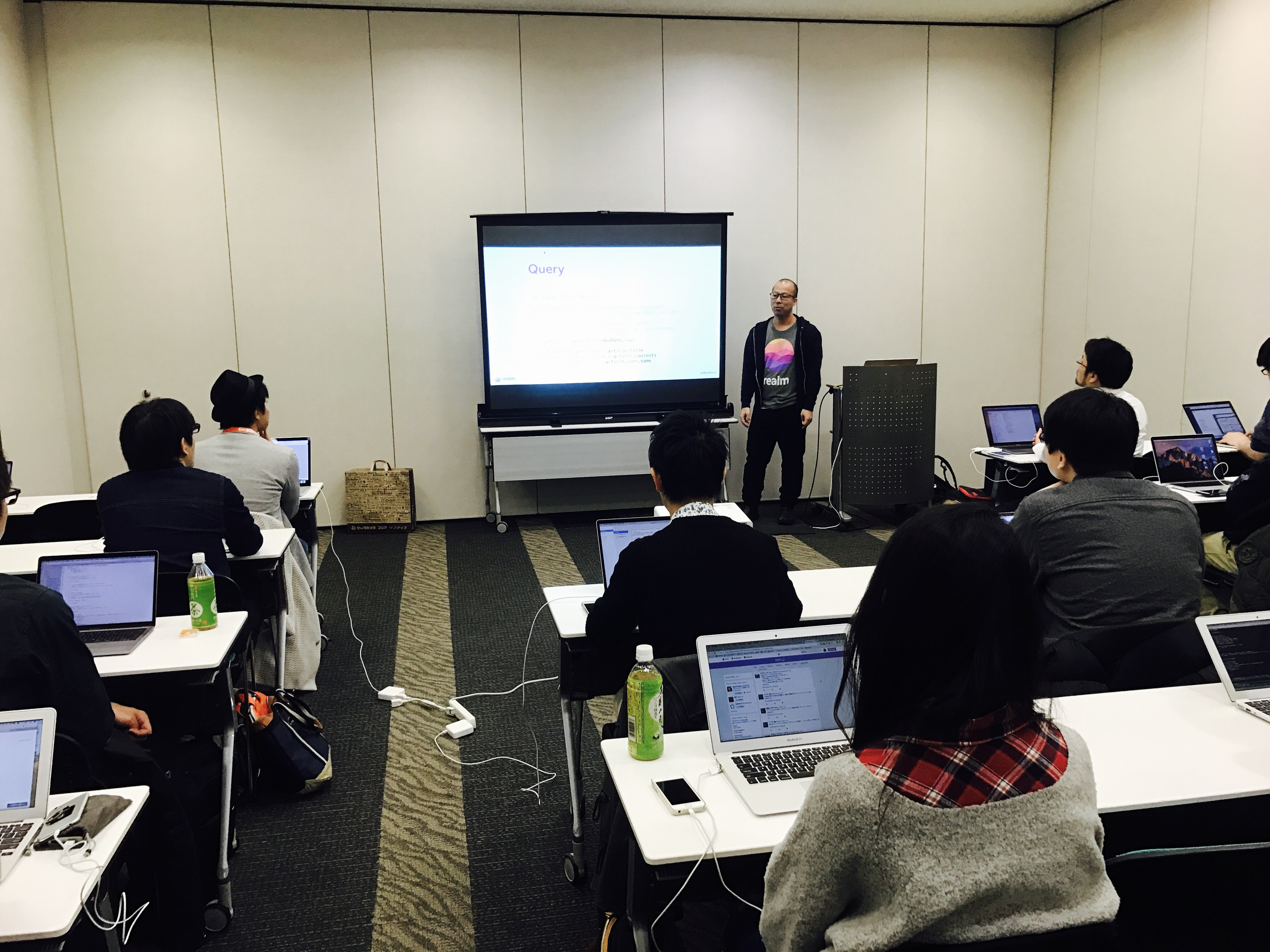 try! Swift Tokyo Realm Workshop