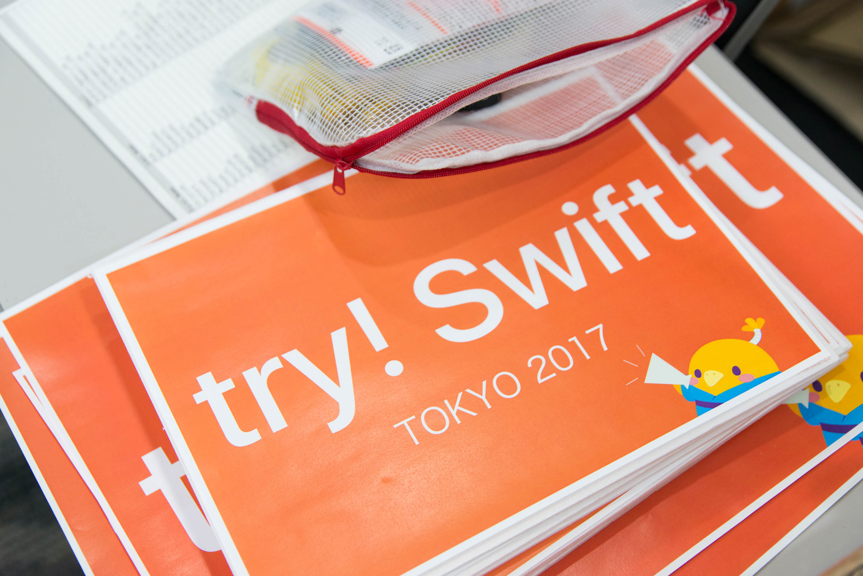 try! Swift Tokyo Conference Signs