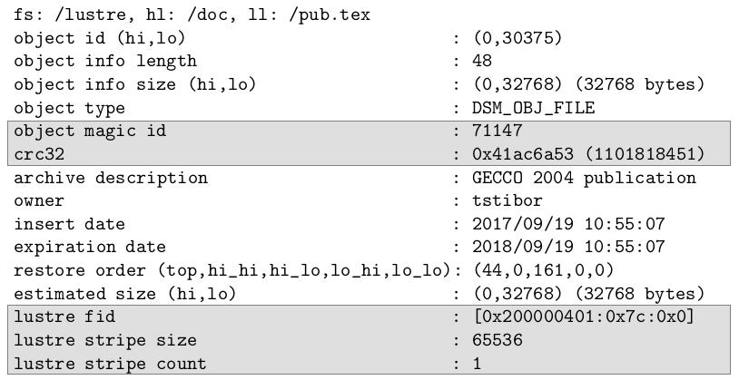 GitHub - tstibor/ltsm: LTSM - Lightweight TSM API, Lustre TSM