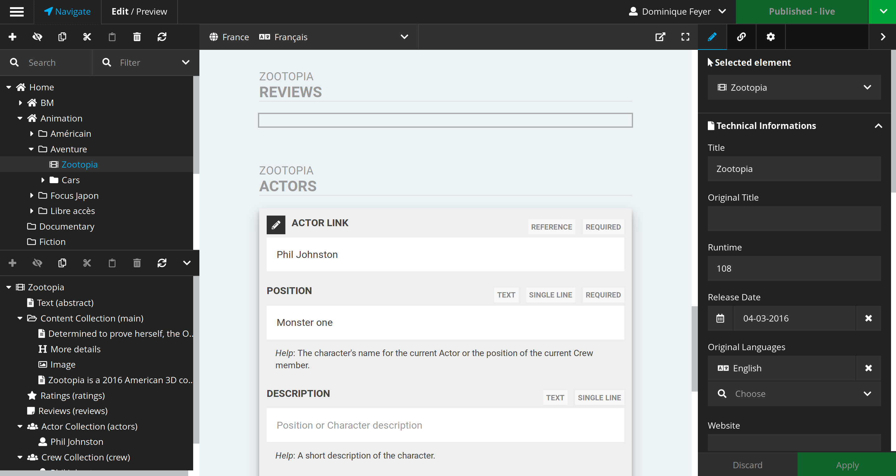 Ttree Writer Mode for Neos CMS