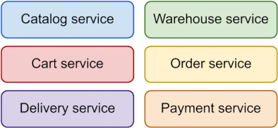 Colored services