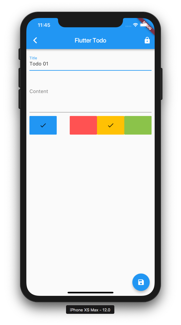 Todo App With Flutter