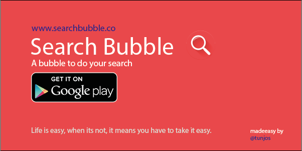 Search Bubble Banner
