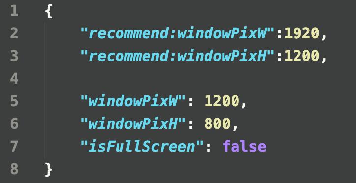 Window Config