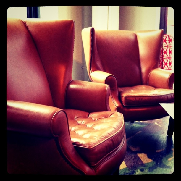 PIE's original conference room chairs