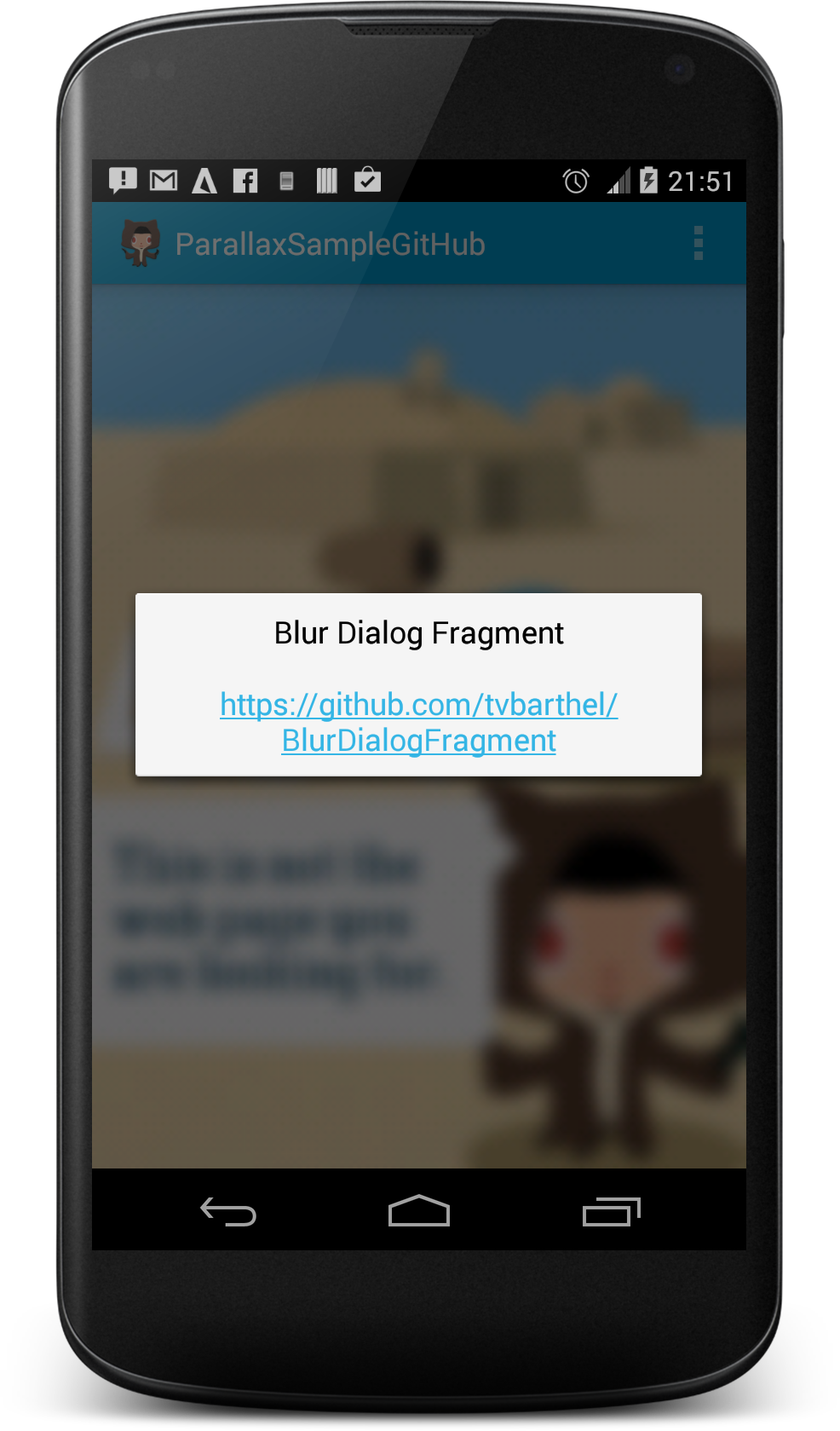 android fullscreen dialog example