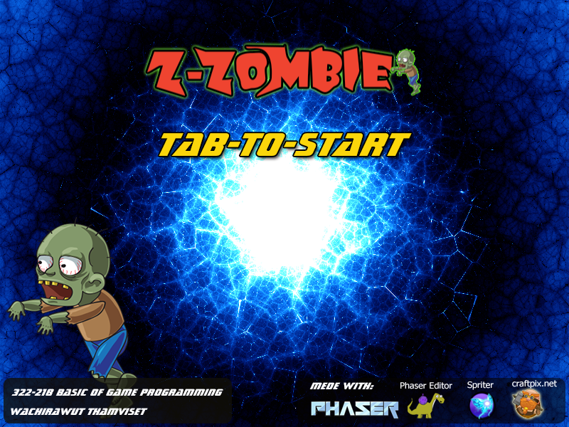 Game: Z-Zombie (classroom at Khon Kaen University)