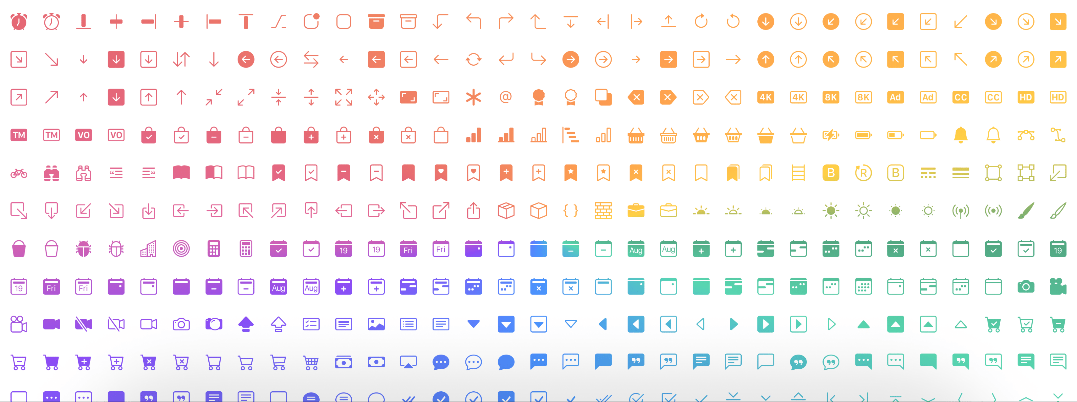 Bootstrap Icons preview