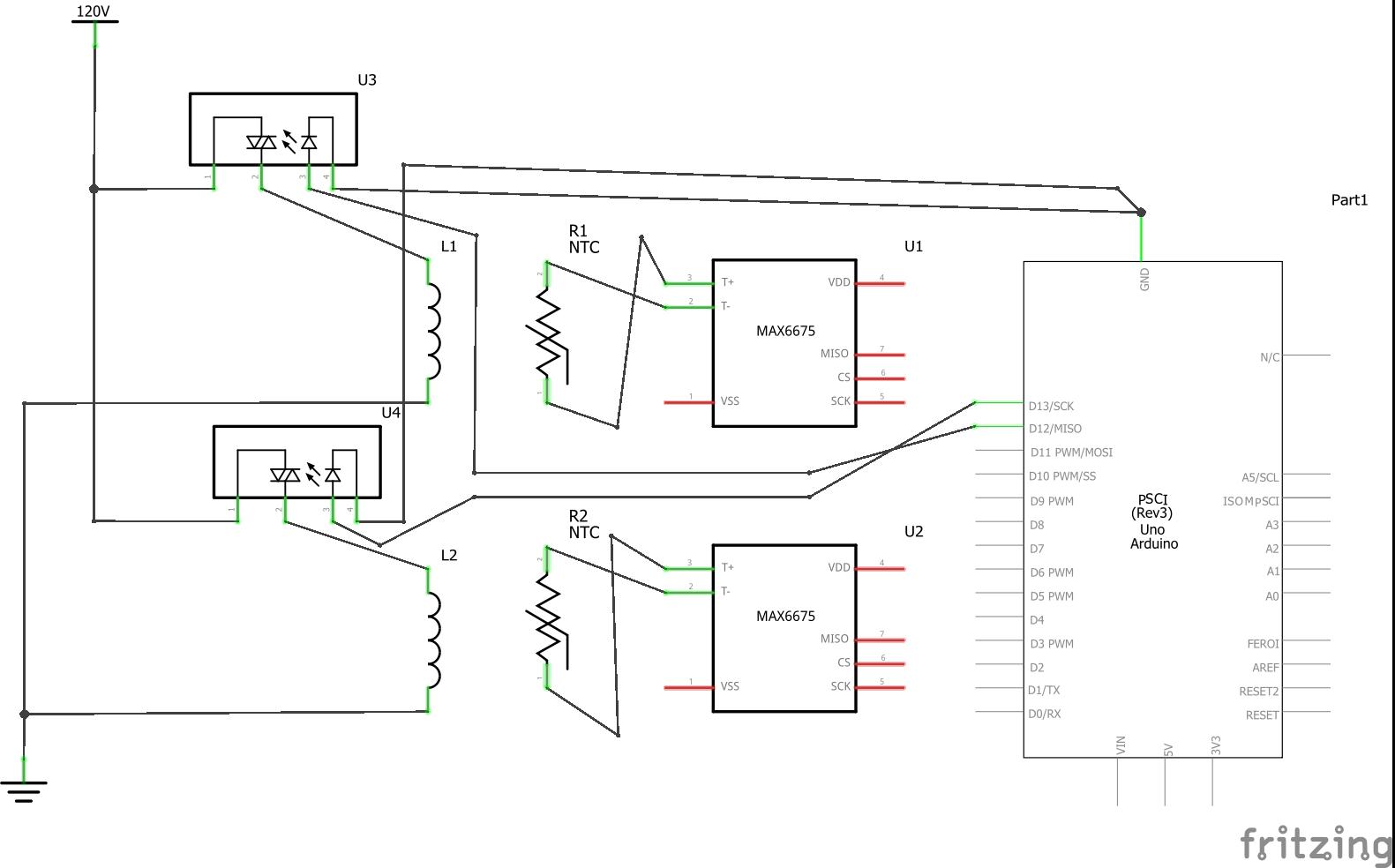 figure: ac side wiring