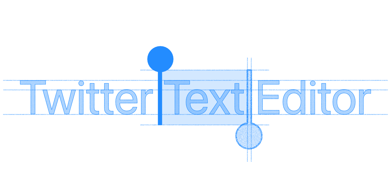 Twitter Text Editor