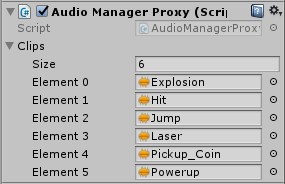 AudioManagerProxy component