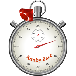 RunbyPace logo