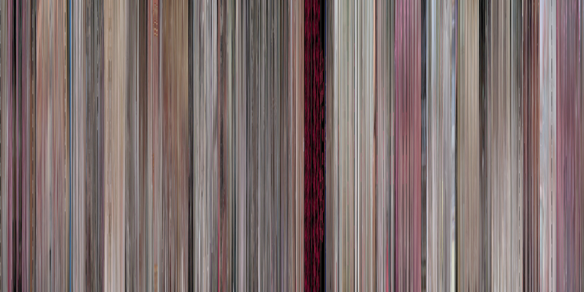 Movie Barcode of Scarface