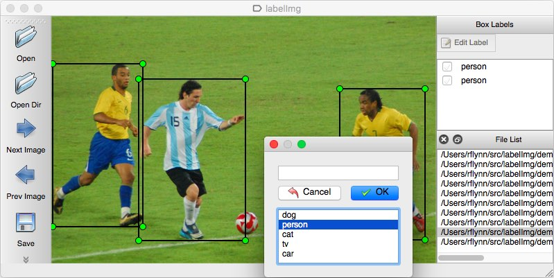 LabelImg is a very popular tool to annotate images
