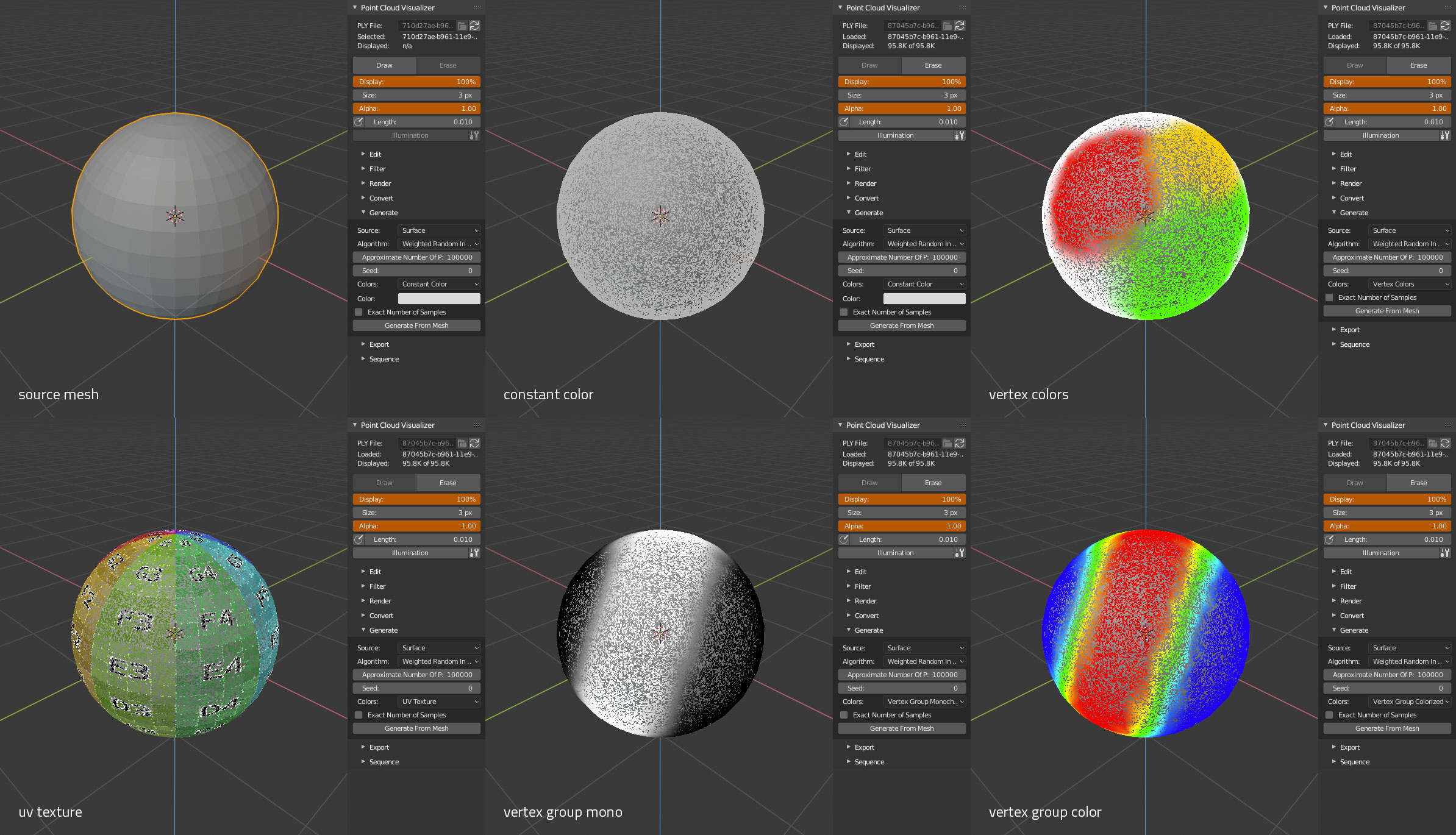 Point Cloud Visualizer - Released Scripts and Themes