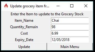 GitHub - ukirderohit/Python-Final-Project: Grocery-Store