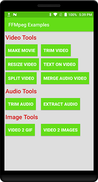 The Android Arsenal - Video - Kotlin FFMpeg Tools