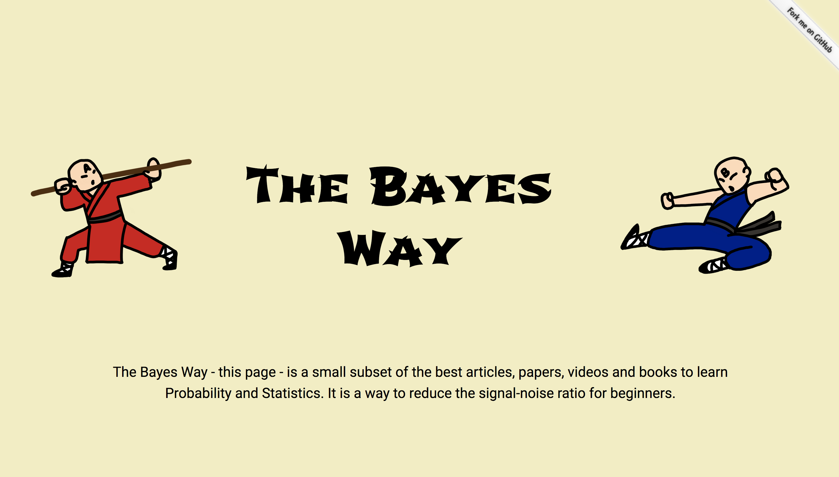 The Bayes Way - the best articles, papers, videos and books