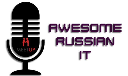 Awesome Russian IT Logo