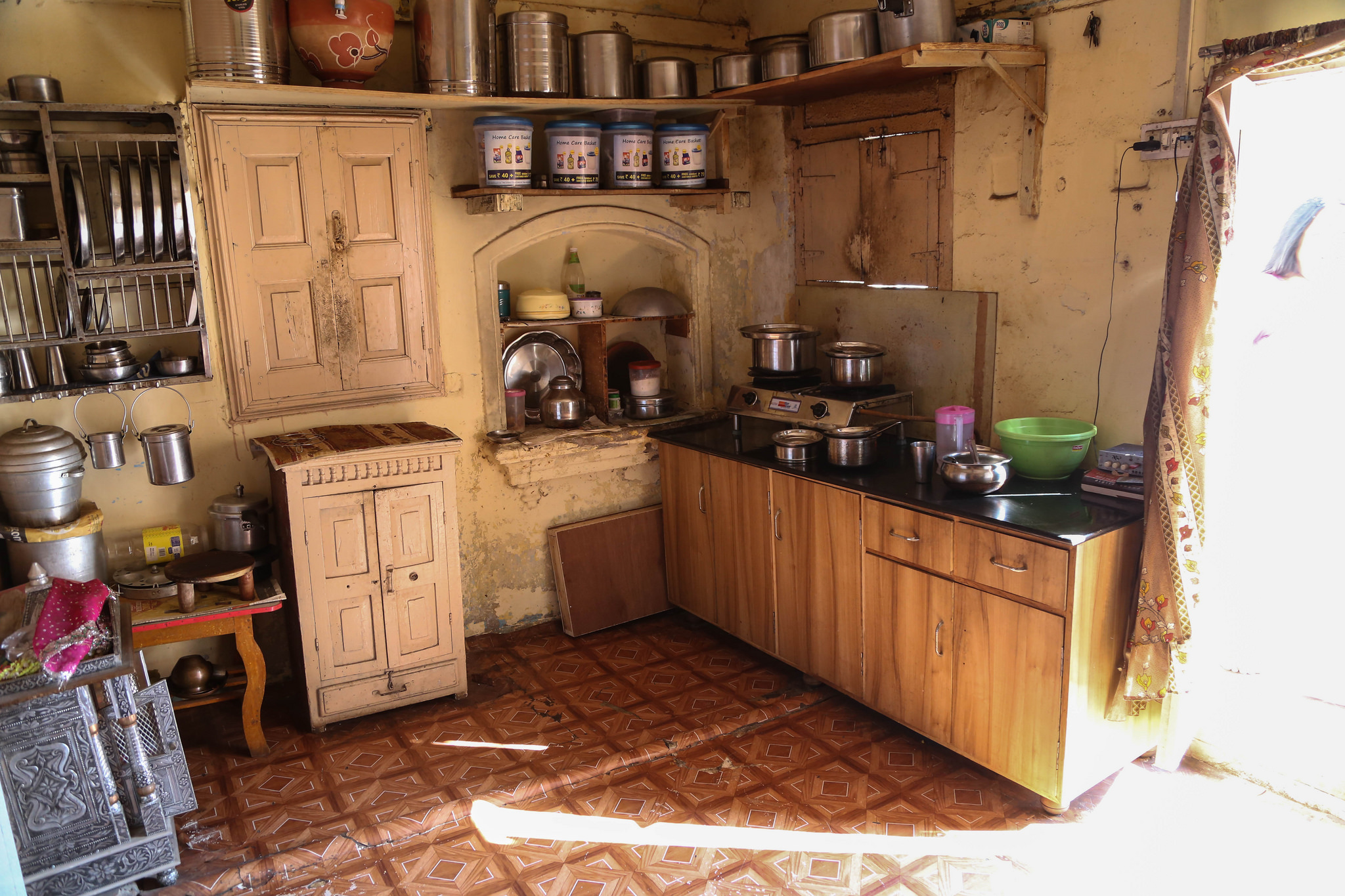 Kitchen of an Indian home