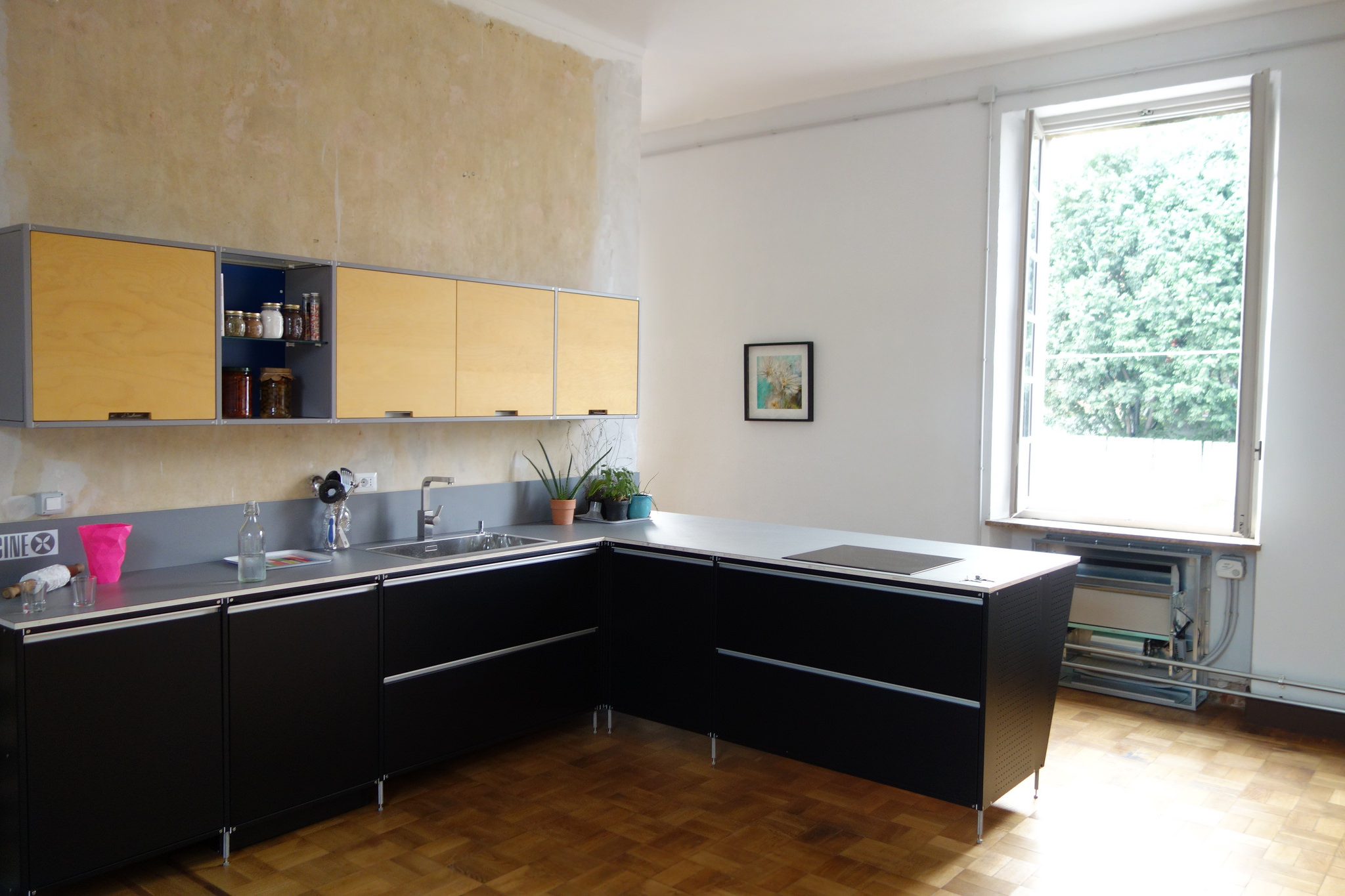 Kitchen of an Italian home