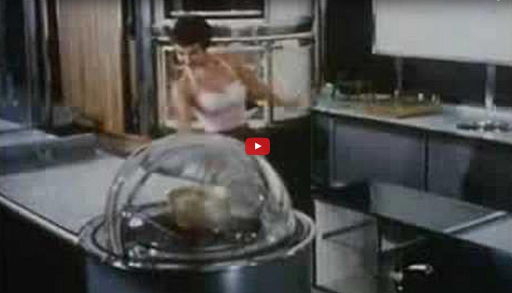 retro future kitchen