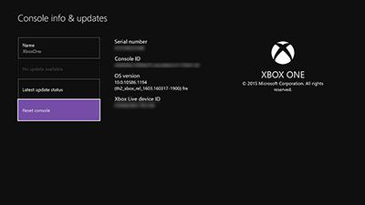 Xbox Console LiveID
