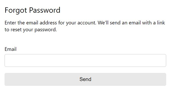 unleashit/forgot-password - npm