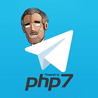 PHP 7 Telegram Bot API Library