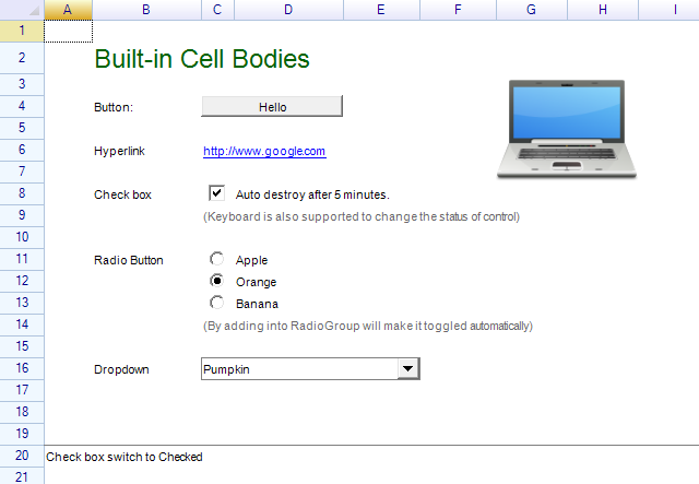 Snapshot - Cell Types and Controls