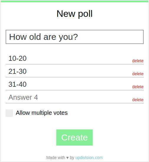vue-easy-polls