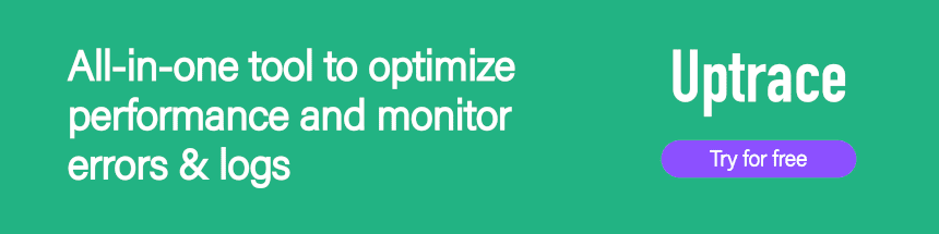 All-in-one tool to optimize performance and monitor errors & logs