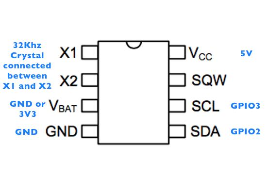 DS1307 diagram