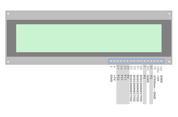 HD44780 pins