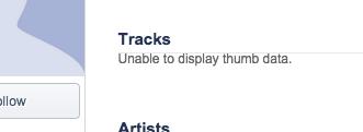Unable to display thumb data.