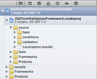 Import framework screen