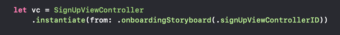 StoryboardIdentification