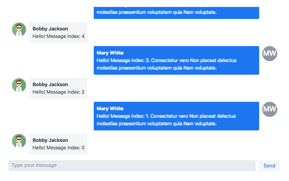 Screenshot of incubator-chat
