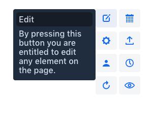 Screenshot of incubator-tooltip