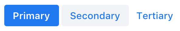 Screenshot of vaadin-button, using the default Lumo theme