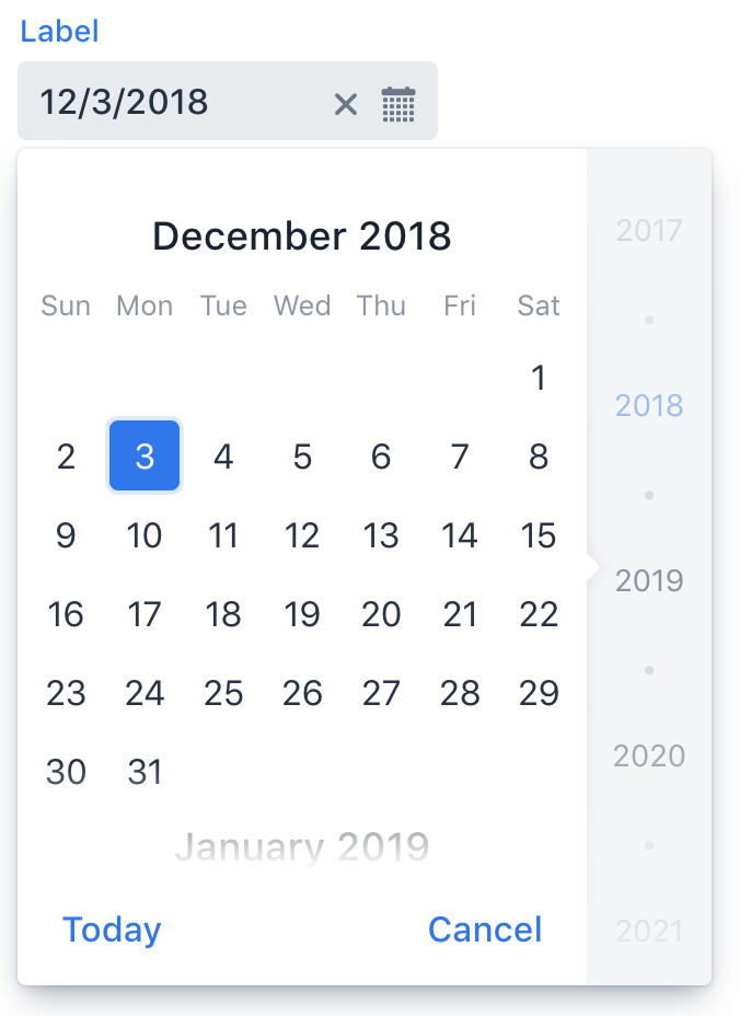 Date Picker | Components | Vaadin