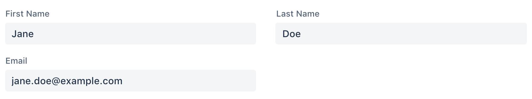 Screenshot of vaadin-form-layout